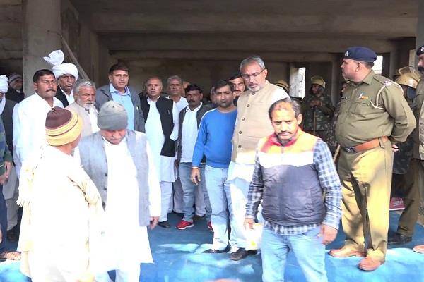 jaat group protested against yashpal malik