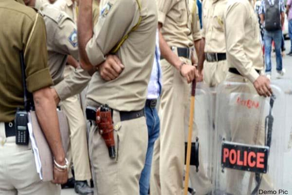 police raid on the accused s house printer laptop recovered