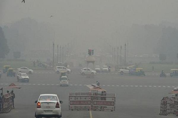 delhi s air quality in  poor  category
