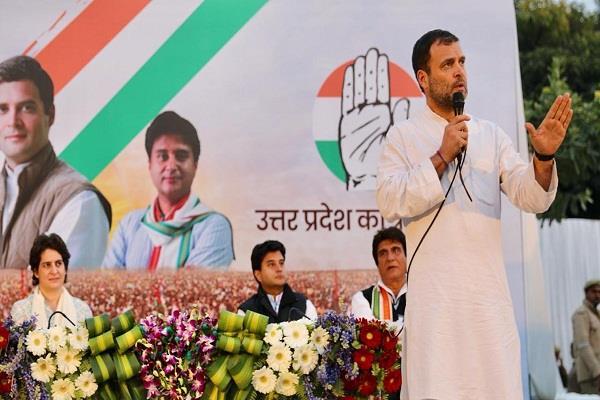 rahul gandhi split seats between priyanka jyotiraditya scindia