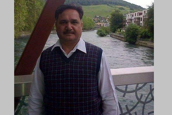 inld ex mla ashok kashyap died from swine flu