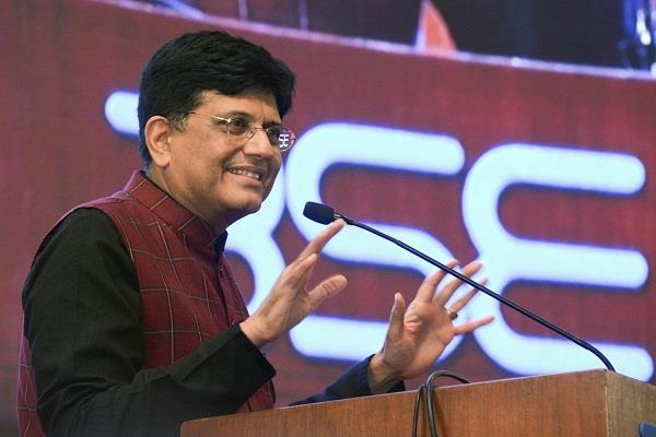 piyush goyal says budget not brought by election