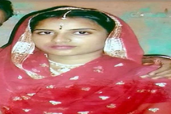 swine flu death married woman dead in bhilthath
