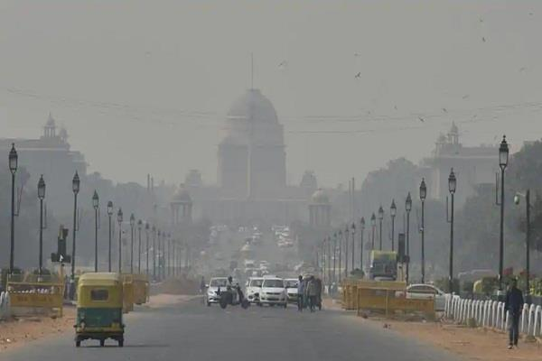 rectification of air quality in delhi after the rain