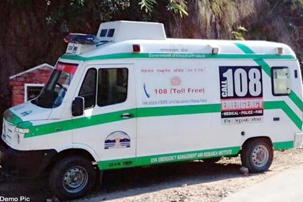 death of woman due to lack of oxygen in ambulance