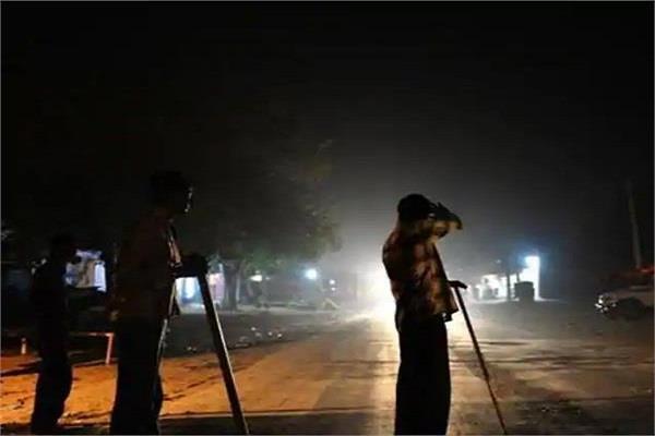 air force testing half held in amritsar police