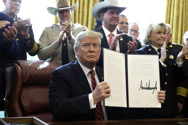 trump vetoed congress bill