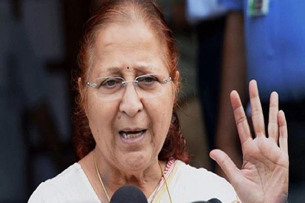 off the record sumitra mahajan can get chance again