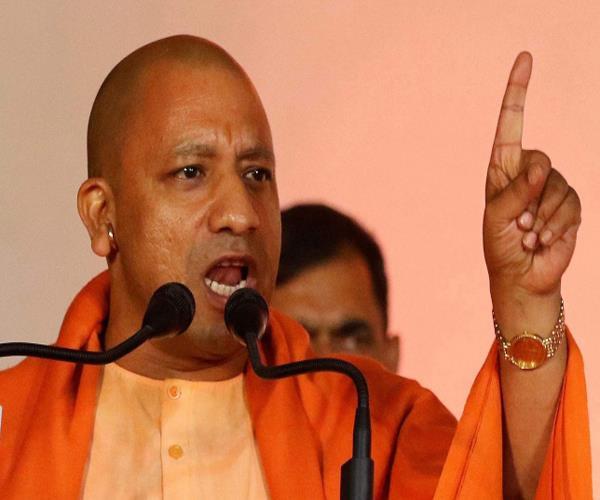 sp bsp congress believes in ali in our bajrangbali yogi adityanath