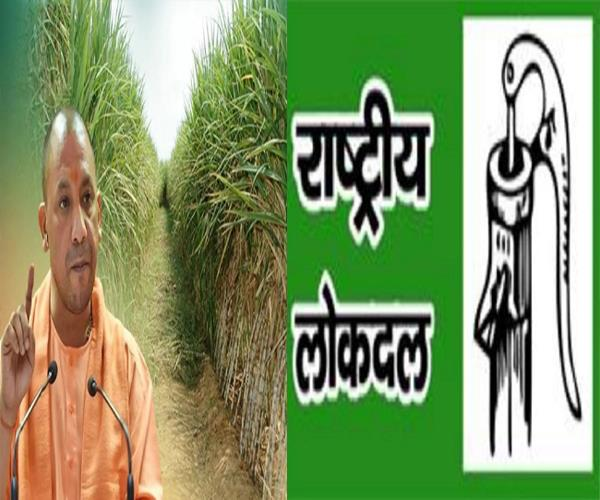in case of sugarcane payment yogi sarkar fails rld