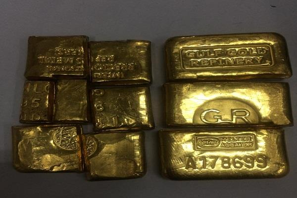 seized gold from amritsar airport