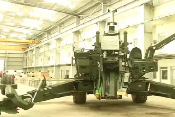 more powerful gun than bofors built in jabalpur