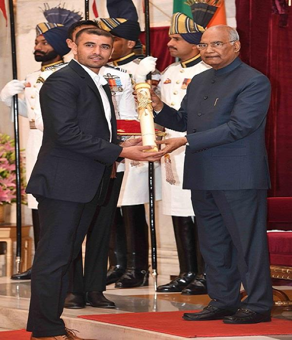 padma shri award for kabaddi player ajay thakur