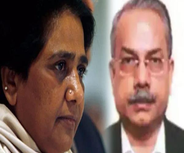 mayawati found close to ias netaraam annexure property of 225 crore