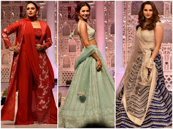 Charity Fashion Show: सानिया-हुमा के आगे फीका पड़ा इन 3 हसीनाओं का जलवा