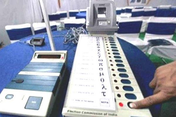 himachal polling on four seats will be on may 19