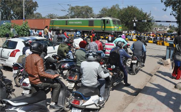 the problems of increased people as overbridge started
