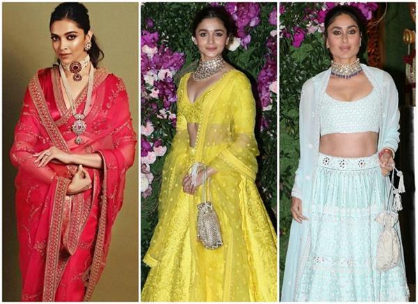 Akash-Shloka Wedding: दीपिका पिंक साड़ी में लग रही थी रानी, आलिया-करीना भी नहीं दिखीं कम (See Pics)