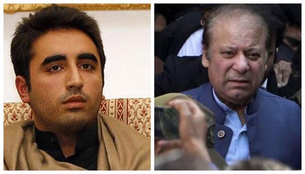 bilawal bhutto meets ailing sharif in jail