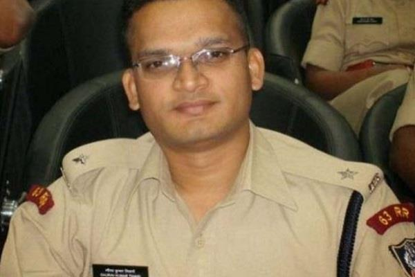 sp police fired bullets on rajasthan police jaw sp suspended
