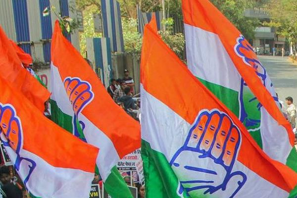 congress mla threatens farmers