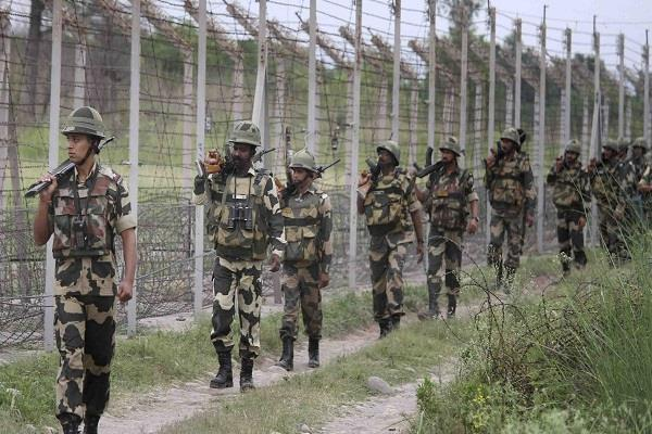 farmer disturbed with thorn wire on border