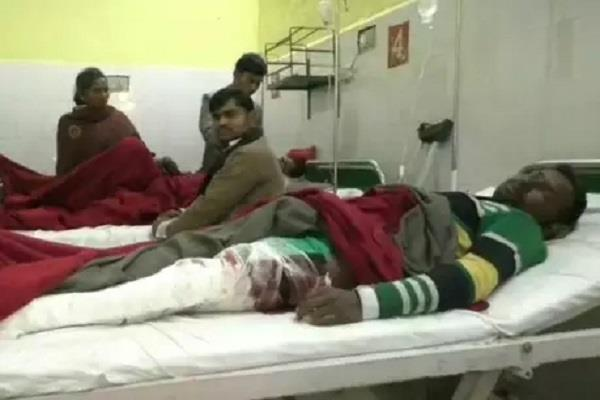 sitapur 4 people died in road accident