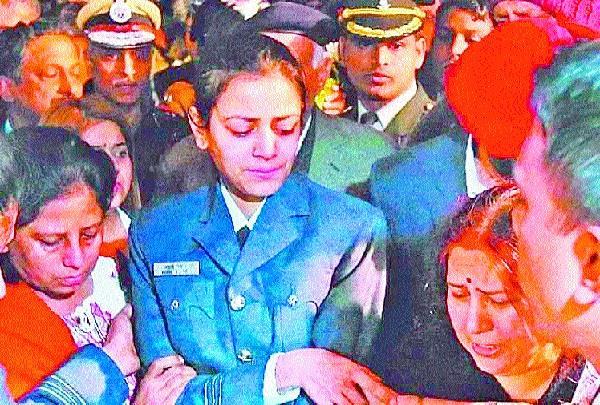 funeral of martyr siddhartha sharma in ambala