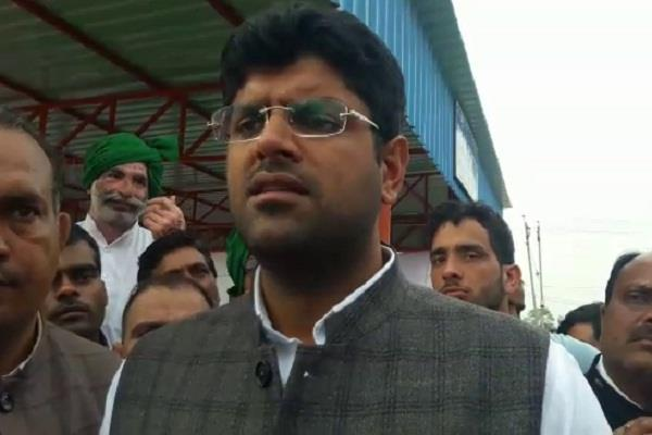 dushyant said cm manohar lal bounced out by jjp
