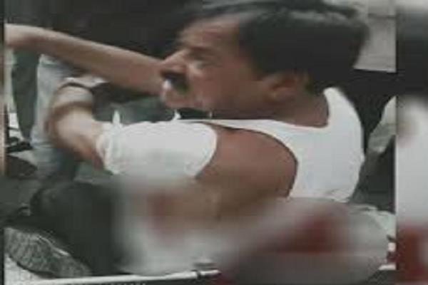 extreme crime in mp then bjp leader killed in attack