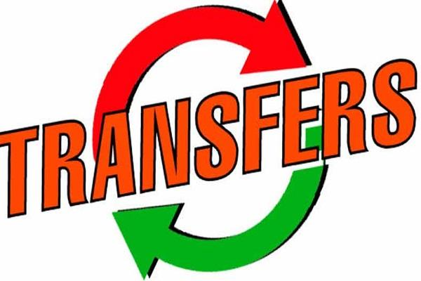 transfer of tehsildars in mp list released