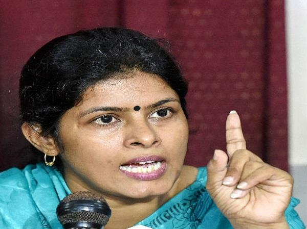 swati singh s attack on congress