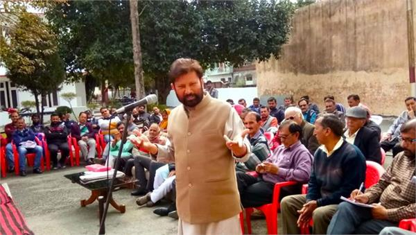 lal singh contest election on his own sangthan s ticket