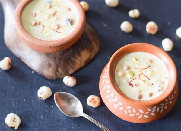 MahaShivratri: व्रत में बनाकर खाएं स्वादिष्ट मखाना खीर