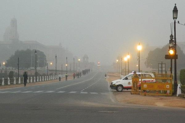 cold and fog in delhi ncr