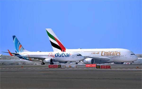 uae partially started flights to pakistan