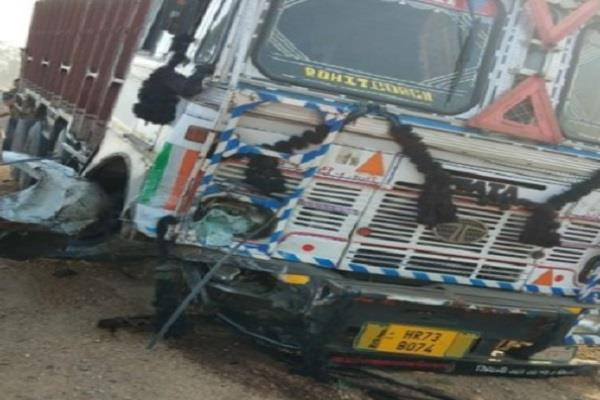 truck collision in car death on 3 occasions