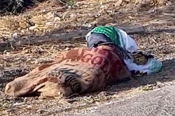 scrap trader found dead body lying in sack spread sensation