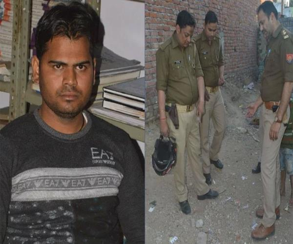 jiju reached the police station with blood in hand