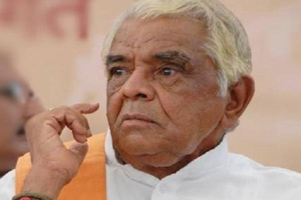 babulal gaur for lok sabha elections says delhi is not far away
