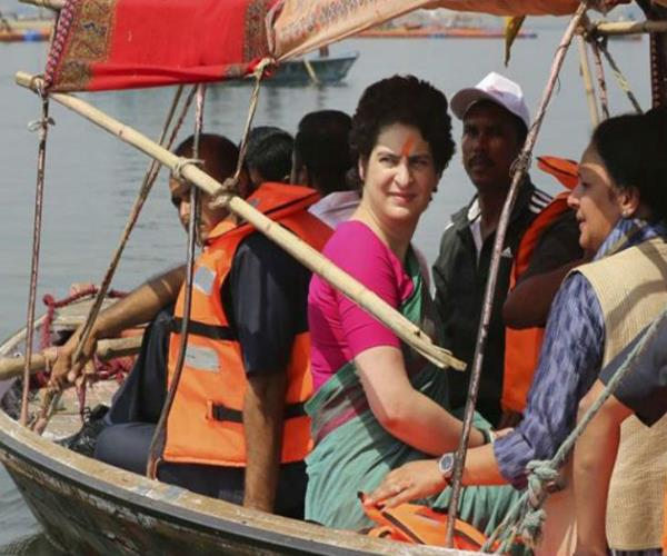 bjp asked about ayodhya yatra will priyanka make atonement of congress s sins