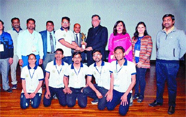 mobile application got first award on national level
