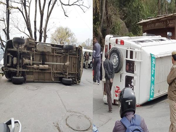 accident with tourists going to dalhousie via mclonggunj