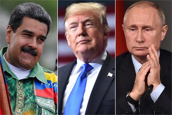 us slaps new sanctions on venezuelan regime as russia ups support