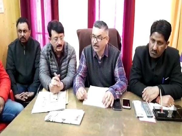 congress president dr rajiv bindal on the target of congress