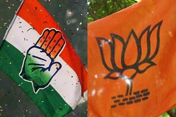 bjp and congress face stiff competition for tickets