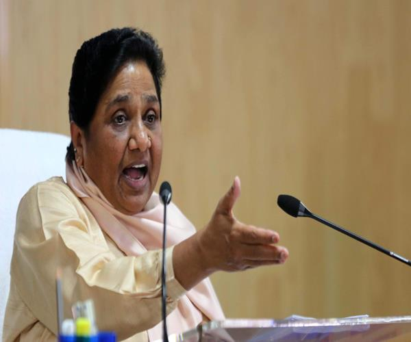 bjp and modi are trying to distract attention from the failures mayawati