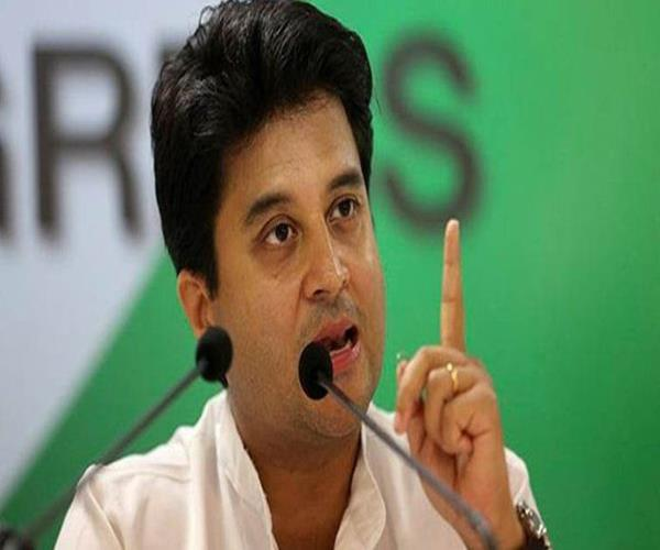 congress will contest lok sabha elections on its own in up sindhiya