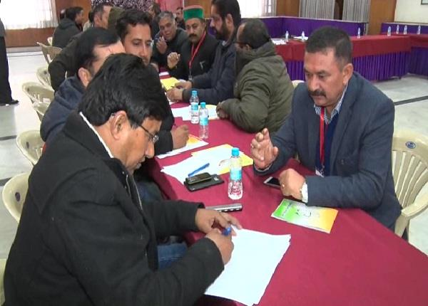 congress strengthening workers at booth level for lok sabha election