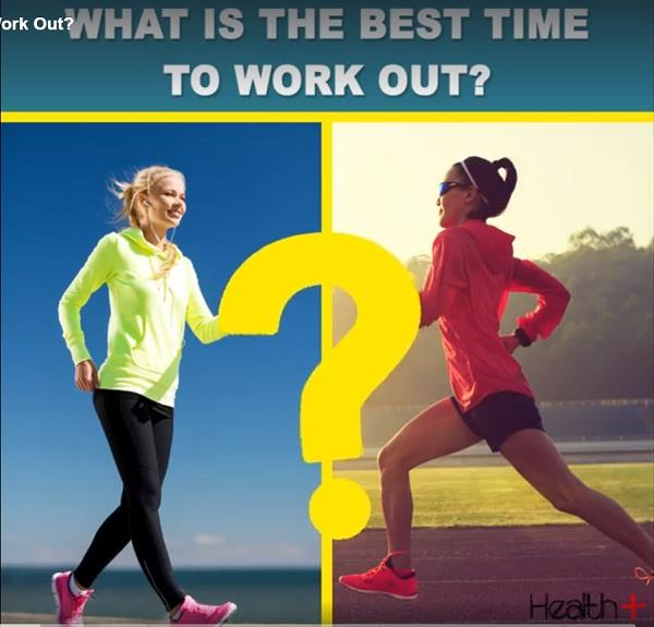 what is the best time to work out
